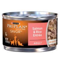PRO PLAN® SAVOR™  ADULT Salmon & Rice Entree In Sauce