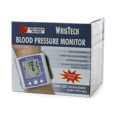 North American Healthcare WrisTech Blood Pressure Monitor