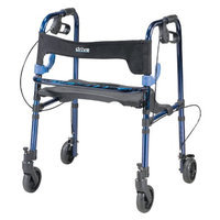 Clever Lite Rollator Walker with Casters - Junior