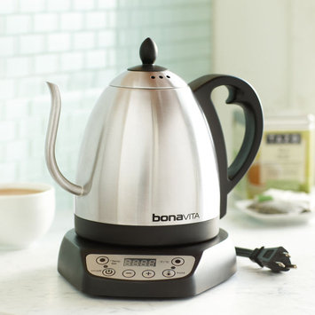 Variable Temperature Gooseneck Electric Kettle by Bonavita