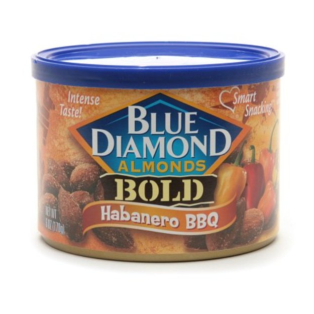 Blue Diamond Bold Almonds Habanero BBQ