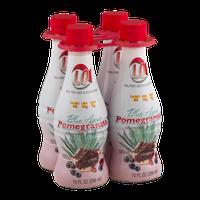 LO Fruit Juice Blend Beverage, Blue Agave Pomegranate - 4 CT