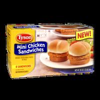 Tyson Mini Chicken Sandwiches - 8 CT