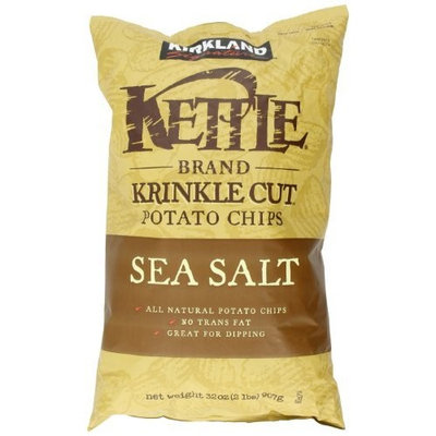 Kirkland Signature Signature Krinkle Cut Chips, 32 Ounce