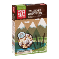 Mom's Best Naturals Cereal Sweetened Wheat-Fuls