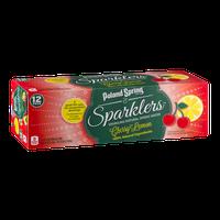 Poland Spring Sparklers Sparkling Spring Water Cherry Lemon - 12 PK