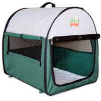 Go Pet Club Dog Soft Crate, 38-Inch by 28-Inch by 34-Inch, Green