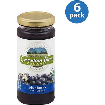 Cascadian Farms Organic Blueberry Fruit Spread