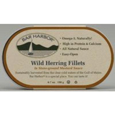 Bar Harbor Wild Herring Fillets In Stone-ground Mustard Sauce -- 6.7 oz