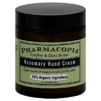 Pharmacopia Hand Cream, Rosemary, 4-Ounces