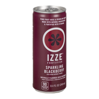 Izze Fortified Juice Sparkling Blackberry