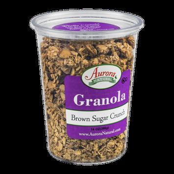 Aurora Natural Granola Brown Sugar Crunch