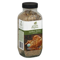 Simply Organic Turkey Brine Seasoning 14.1 oz