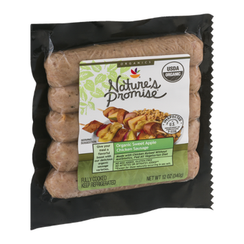 Nature's Promise Organic Sweet Apple Chicken Sausage