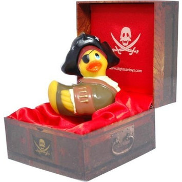 Big Teaze Toys Travel Size I Rub My Duckie Personal Massager, Pirate