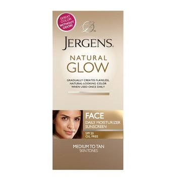 Jergens Natural Glow FACE Daily Facial Moisturizer SPF 20