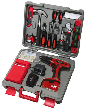 Apollo Precision Tools 155-Pc. Household Tool Set