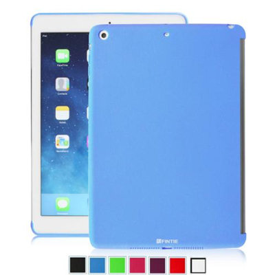 Fintie SoftGel TPU Back Case Smart Cover Partner for Apple iPad mini / iPad mini 2 with Retina Display, Navy