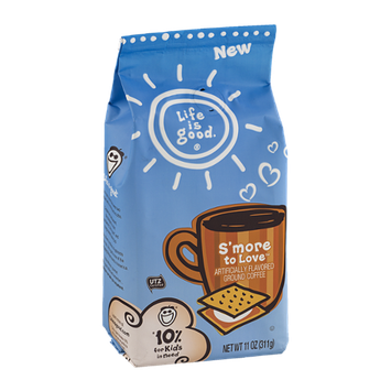 Life Is Good Ground Coffee S'more To Love
