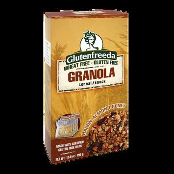 Glutenfreeda Raisin Almond Honey Granola