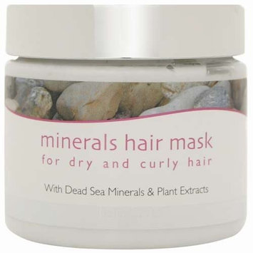 Jericho Mineral Hair Mask for Dry Curly Hair 7 Oz