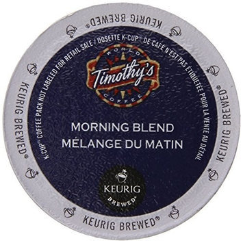 Timothy's World Coffee, Morning Blend, K-Cup Portion Pack for Keurig K-Cup Brewers 24-Count (Pack of 2)