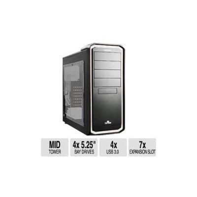 Enermax Ostrog Black/White Mid Tower Computer Case - M/B Compatibility(ATX, Micro ATX), 4x 5.25