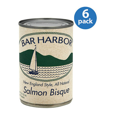Bar Harbor New England Style Salmon Bisque