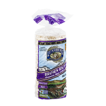 Lundberg Brown Rice Organic Rice Cakes Salt-Free
