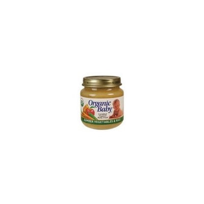Ogranic Baby Organic Summer vegetable ( 24x4 OZ)
