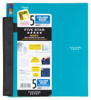 Five Star® Advance® Wirebound 5 Subject Notebook - Student Notebooks