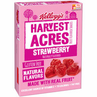 Kellogg's Harvest Acres Strawberry Fruit Flavored Snacks