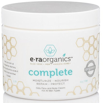 Era Organics 10-in-1 Facial Moisturizer with Aloe Vera, Manuka Honey for Oily, Damaged, Dry and Sensitive Skin, 2oz []