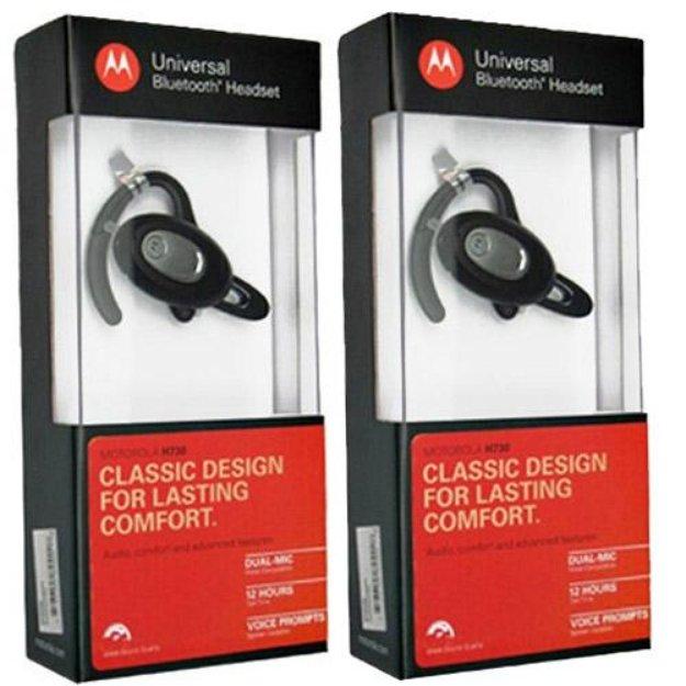 Motorola H730 (2-Pack) Mono Bluetooth Headset