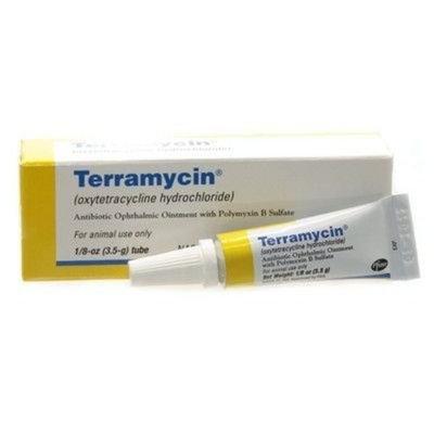 Terramycin Ophthalmic Ointment, 1/8 oz