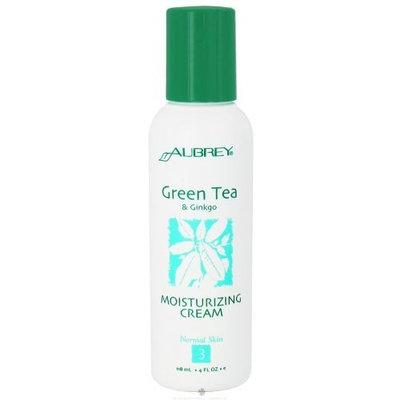 Aubrey Organics - Green Tea & Ginkgo Moisturizer Spf 15, 4 fl oz lotion