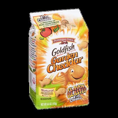 Pepperidge Farm Goldfish Garden Cheddar Baked Snack Crackers