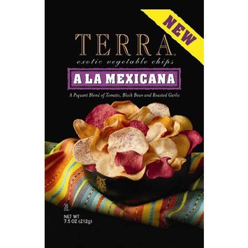 Terra A La Mexicana Exotic Vegetable Chips, 6.8 Ounce Bags (Pack of 12)