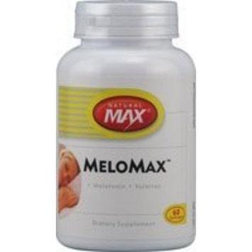 Naturalmax Melomax Melatonin Capsules, 3 Mg, 60 Count