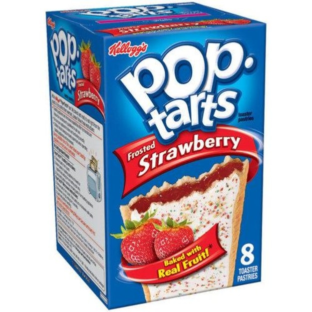 Kellogg's Pop-Tarts Frosted Strawberry