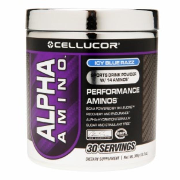 Cellucor - Alpha Amino Performance Aminos Icy Blue Razz 30 Servings - 366 Grams