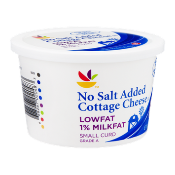 Ahold Cottage Cheese Small Curd Lowfat No Salt Added