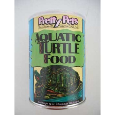 Pretty Bird International SPB77225 12-Ounce Aquatic Turtle Food, Medium