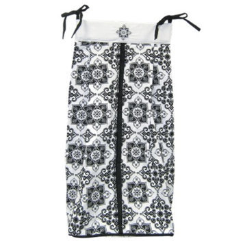 Trend Lab Versailles Diaper Stacker - Black & White