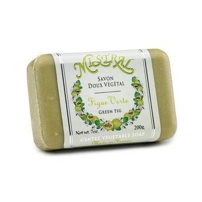 Mistral Shea Butter Soap, Green Fig, 7-Ounce Bar