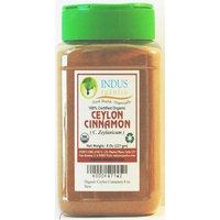 Indus Organics Indus Organic Ceylon Cinnamon Powder, 8 Oz, Premium Grade, Freshly Packed in New Ergonomic Jar
