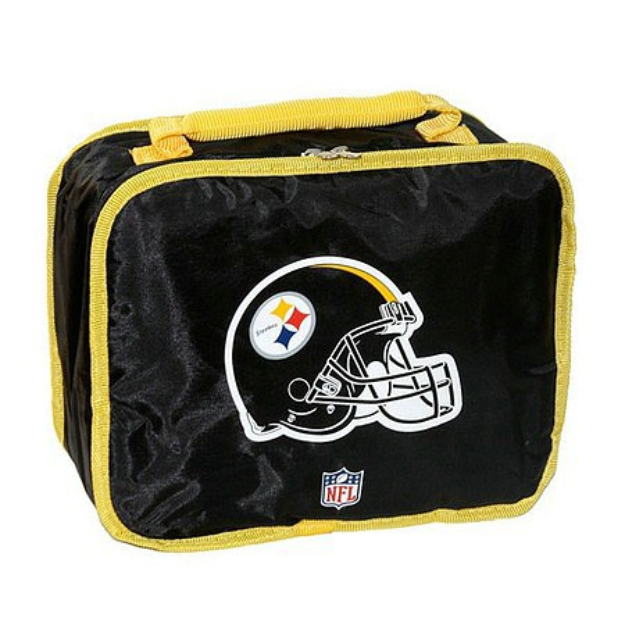 Concept One NFL Pittsburgh Steelers Lunchbox - School Supplies
