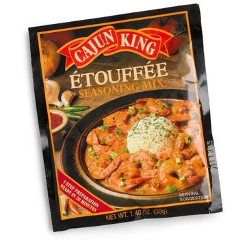 Cajun King Etouffee Seasoning Mix, 1.4-Ounce Packages (Pack of 24)