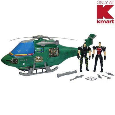 David Shaw Silverware Na Ltd Just Kidz Special Forces Helicopter - Army