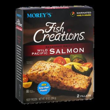 Morey's Fish Creations Wild Pacific Salmon Seasoned Grill - 2 CT